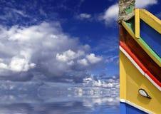 Malta Boat stock photo