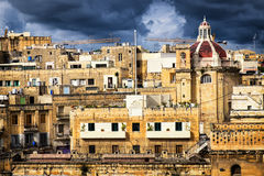 Malta - bormla - Città Cospicua. Old town Stock Photography