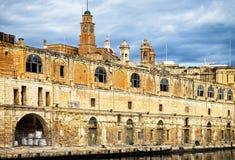 Malta - bormla - Città Cospicua. Old town Royalty Free Stock Photos