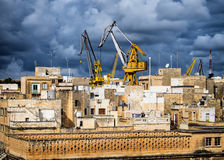 Malta - bormla - Città Cospicua. Old town Stock Images