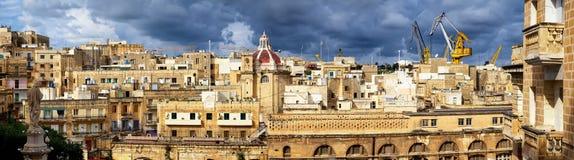Malta - bormla - CittàCospicua Foto de Stock Royalty Free