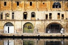 Malta - bormla - CittàCospicua Stock Afbeeldingen