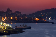 Malta - Bugibba e baia della st Pauls Immagine Stock