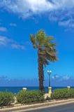 Malta, Seaside promenade Royalty Free Stock Photos
