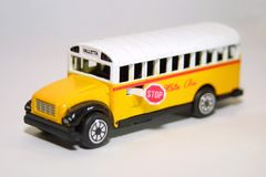 Malta bus. Classic Valletta (Malta) bus toy Stock Photography