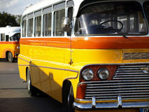 Malta Bus. The legendary and iconic Malta public buses Stock Image