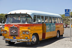 Malta Bus - Rear Detail Royalty Free Stock Photos