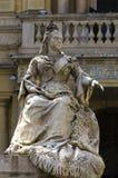 Malta, calles de La Valeta Imágenes de archivo libres de regalías