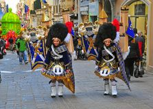 Malta Carnival 2014 in Valletta Stock Photography