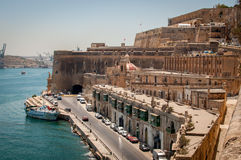 Malta. Castle View in Valleta Royalty Free Stock Photos