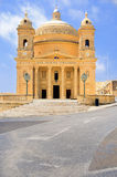 Malta, church in Haz-Zebbug Royalty Free Stock Photo
