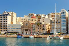 Malta. The Church of Jesus of Nazareth. Royalty Free Stock Photography