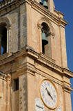 Malta, a cidade pitoresca de valletta Fotos de Stock Royalty Free