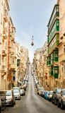City of Valetta at day Stock Image