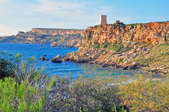 Malta cliffs Stock Images