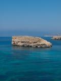 Malta coast Stock Image