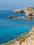 Malta coast Stock Photo