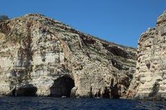 Malta coast. Near The Blue Grotto, Malta Royalty Free Stock Images