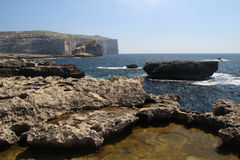 Malta coast Royalty Free Stock Image