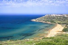 Malta coast Stock Photos