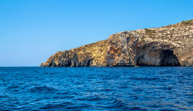 Malta Coastline Royalty Free Stock Photography
