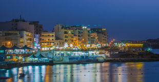 Malta, Coastline view Stock Photography