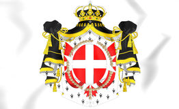 Malta Coat of Arms. Royalty Free Stock Photography