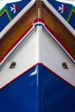 Malta Colored Fishing boats Stock Photography
