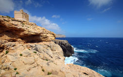 Malta - costa rochosa Foto de Stock Royalty Free