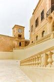 Malta cytadeli architektury Gozo wyspa Zdjęcia Royalty Free