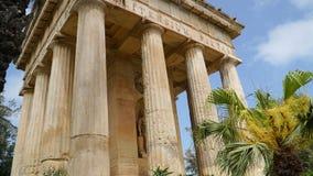 malta De lagere openbare tuin van Barrakka en het monument aan Alexander Ball in oude stad Valletta stock fotografie