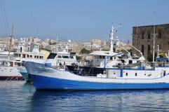 Malta, de schilderachtige baai van Valletta Stock Fotografie