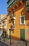 Malta, de schilderachtige stad van Valletta Royalty-vrije Stock Afbeeldingen