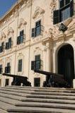 Malta, de schilderachtige stad van Valletta Stock Foto
