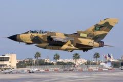 Malta, 14 December, 2007: Saoedi-arabische Tornado stock foto's