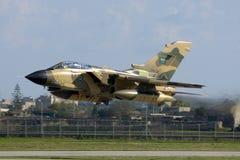 Malta, 14 December, 2007: Saoedi-arabische Tornado Royalty-vrije Stock Afbeeldingen