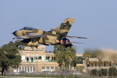 Malta, 14 December, 2007: Saoedi-arabische Tornado Stock Afbeelding