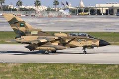 Malta, December 14, 2007: Saudi Tornado. Stock Photo