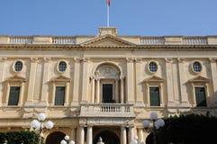Malta, die malerische Stadt von Valletta Lizenzfreie Stockbilder