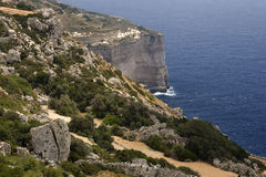 Malta - Dingli Cliffs royalty free stock images