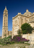 malta för basilicagharbgozo pinu ta Royaltyfria Foton