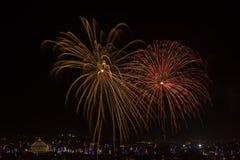 Malta fajerwerków pokaz obrazy stock