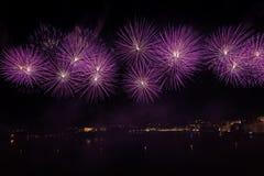 Malta Fireworks Festival Royalty Free Stock Photos