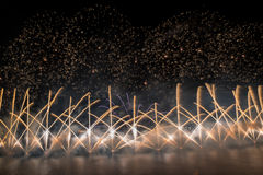Malta Fireworks Festival Royalty Free Stock Images