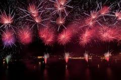 Malta Fireworks Festival Royalty Free Stock Image