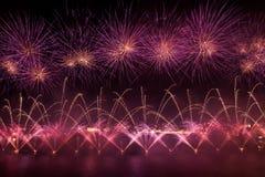 Malta Fireworks Festival Stock Images