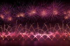 Malta Fireworks Festival Stock Photography