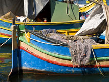 Malta Fishing Village Stock Image