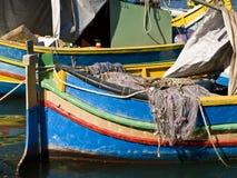 Malta Fishing Village Stock Image