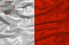Malta Flag 3 Stock Photos
